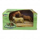 Speelgoeddieren van de Jungle Luna - Lot van 3
