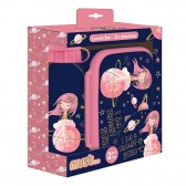 Girl Space snack box and aluminum gourd