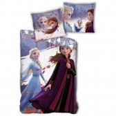 Snow Queen duvet cover 140x200 cm and pillow tai