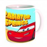 Mug Cars Disney en céramique - Boîte cadeau