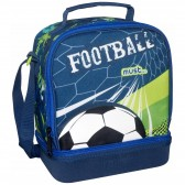 Football Must 24 CM lunch bag insulated snack bag