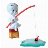 Figurine Casper à la pêche