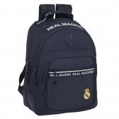 Sac à dos Real Madrid 42 CM - 2 Cpt - Haut de gamme