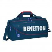 Benetton Navy 50 CM Sports Bag - Top of The Range