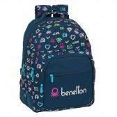Benetton Blue Marine Backpack 42 CM ergonomic - 2 Cpt