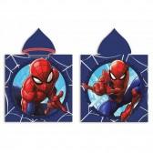 Poncho de bain à capuche Spiderman Marvel