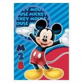 Plaid polaire Mickey Disney 140x100cm - Couverture