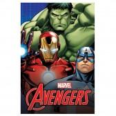 Plaid polaire Avengers 150x100cm - Couverture Marvel