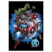 Marvel Avengers Polar Plaid 140x100cm - Cover