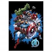 Marvel Avengers Polar Plaid 140x100cm - Hoes