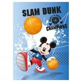 Plaid polaire Mickey Basketball 140x100cm - Couverture Disney