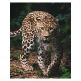 Plaid microflanelle Leopard 120 x 150 cm - Couverture microflanelle