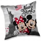 Coussin Mickey Minnie New York 40 CM Disney