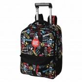 FREEGUN Skate Primary 48 CM Wheeled Backpack - Top of The Range