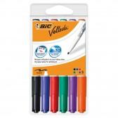 Erasable markers Velleda BIC 1741 Average tip - Lot of 6