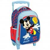 Sac à dos à roulettes Mickey Mouse 30 CM - Cartable maternelle