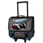 Hot Wheels 38 CM Trolley Satchel Op wielen - Satchel