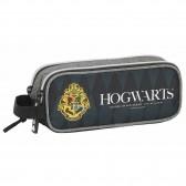 Trousse rectangle Harry Potter Poudlard 21 CM - 2 cpt