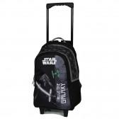 Sac à dos à roulettes Star Wars Mandalorian 45 CM Cartable Trolley