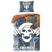 Parure housse de couette coton Call Of Duty 140x200 cm avec Taie d'oreiller