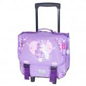 Wheeled satchel Bella Sara wings 38 CM high-end
