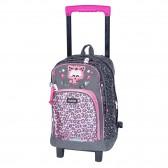 Chacha 43 CM wheeled backpack - Cat cart
