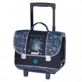 Cartable à roulettes Batman Blue 41 CM Trolley Haut de gamme
