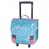 Wheeled satchel Harry Potter Hogwarts Blue 38 CM