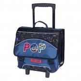 KIP GIRL 38 CM wheeled satchel