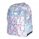 Backpack ETTAVEE LOVE Marine Papillon 42 CM - 2 Cpt