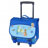Wheeled satchel LIGUE 1 PIXEL 38 CM - League of talents