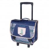 SCOOBY DOO Mistery Blue 38 CM wheeled satchel