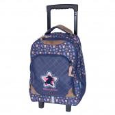 TEO JASMIN Cat Jasmine Cool Roller Backpack - 2 Cpt 43 CM