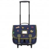 Wheeled satchel Tann's Eden 41 CM - Les Unis Revisités - Collection 2022