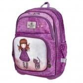 Dinosaur backpack 43 CM - 3 Cpt