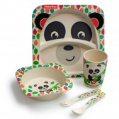 Set déjeuner en bambou Fisher Price 5 pièces