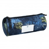 Trousse ronde Cheval Milky Kiss Love Ride Navy 20 CM