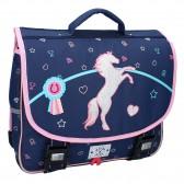 Milky Kiss Love Ride Navy 38 CM satchel