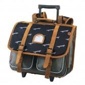 Kickers Girl Premium Violet 38 CM Wheeliebag - Top of the Range