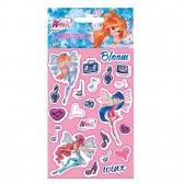 Lot de stickers Winx - 5 feuilles