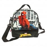 Sac gouter Spiderman Marvel White 21 CM - sac déjeuner