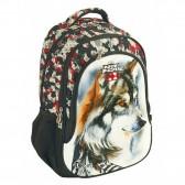 Backpack No Fear Tiger Black 48 CM - 2 Cpt