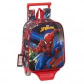 Spiderman 28 CM Trolley High-End Mutter-von-Räder-Rucksack