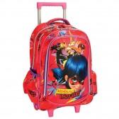 Miraculous Ladybug 45 CM Marinette Wheeled Backpack - Cartable