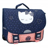 Cartable Chat Milky Kiss Have More Fun Marine 38 CM