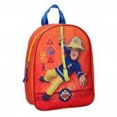 Backpack Sam the Firefighter Fire Rescue 28 CM Kindergarten
