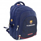 Sac à dos FC Barcelone Marine 45 CM Haut de Gamme - 3 cpt - FCB