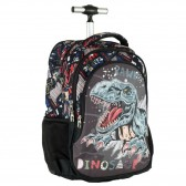 Backpack with wheels Dinosaur 48 CM - Satchel