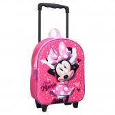 Kinderrollen Rucksack Minnie 3D 31 CM Rolltasche Trolley