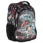 Sac à dos Dinosaure No Fear 45 CM - 2 Cpt